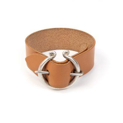 Shop Pulsera Plata Joyeria Diseno Sostenible Barcino Fibula L